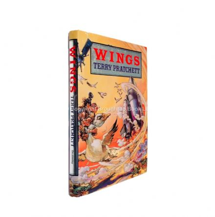 Wings Signed by Terry Pratchett First Edition Doubleday 1990